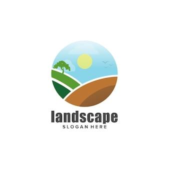 Diseño de logo de paisajismo