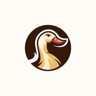 Diseño de logo de pato