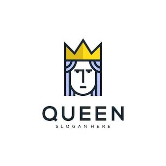 Diseño de logo queen