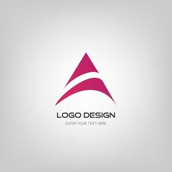Diseño de logotipo abstracto.