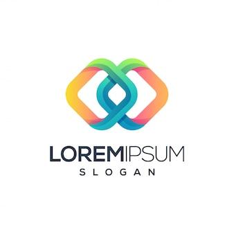 Diseño de logotipo abstracto