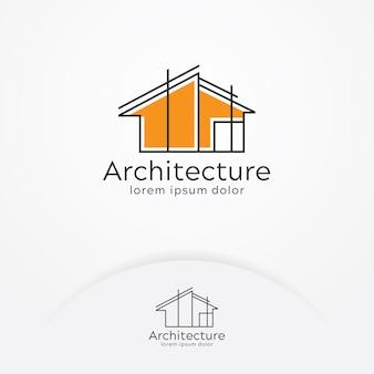 Diseño de logotipo de la arquitectura