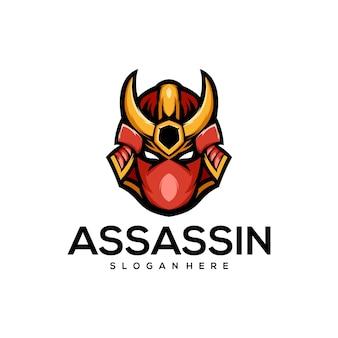 Diseño de logotipo de asesino