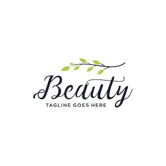Diseño de logotipo de belleza