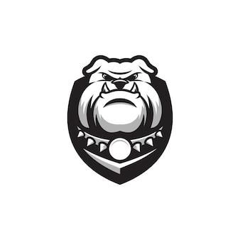 Diseño de logotipo bulldog