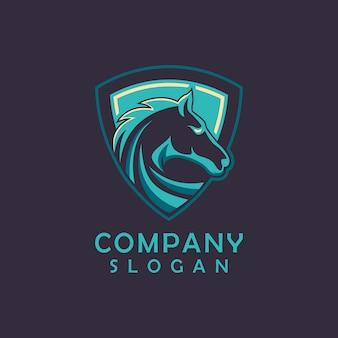 Diseño de logotipo de caballo