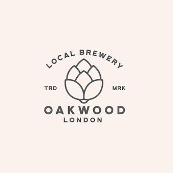 Diseño de logotipo de cerveza