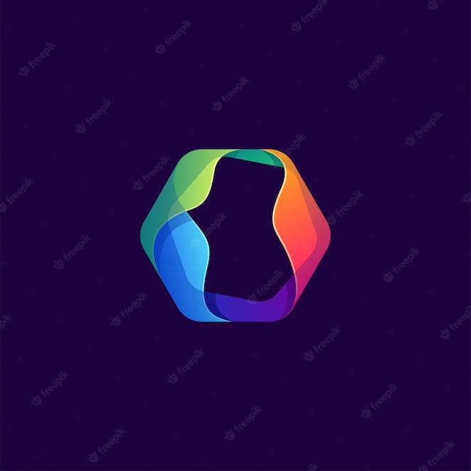 Diseño de logotipo colorido