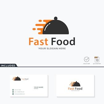 Diseño de logotipo de comida rápida