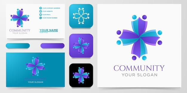 Diseño de logotipo comunitario