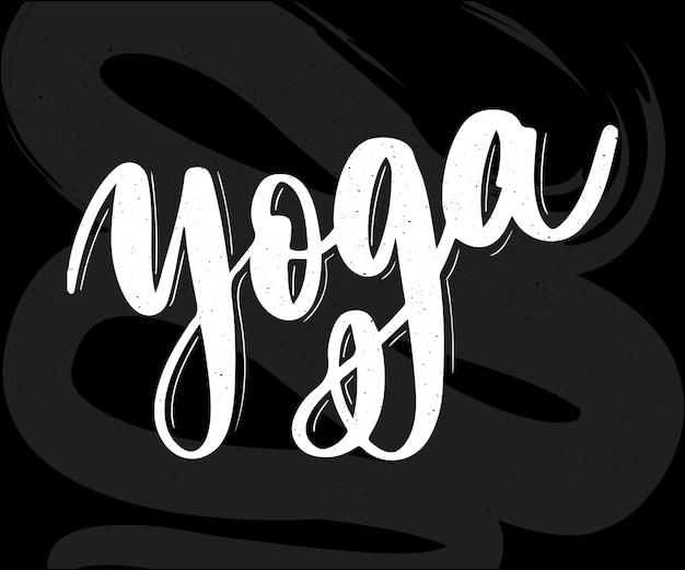 Diseño de logotipo de concepto de estudio de yoga