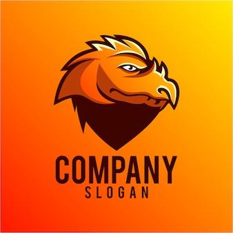 Diseño del logotipo del dragón
