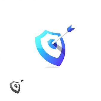 Diseño de logotipo de escudo