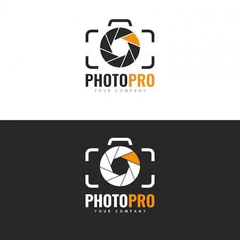 Diseño de logotipo de estudio fotográfico.