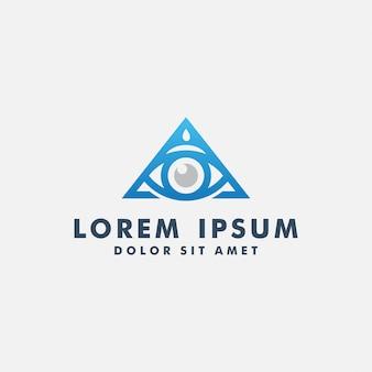 Diseño de logotipo de eye vision