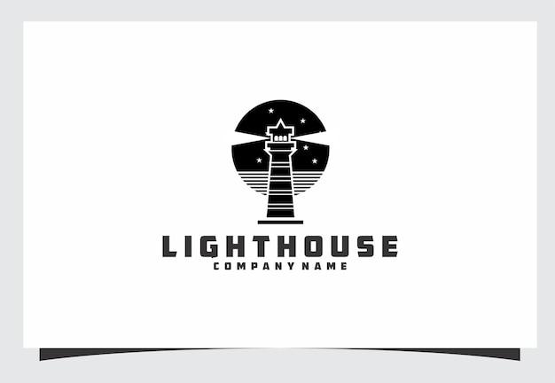 Diseño de logotipo de faro