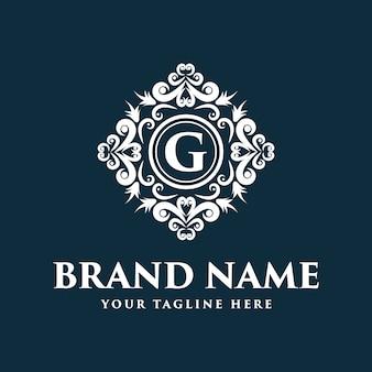 Diseño de logotipo de flores con estilo de línea de arte. los logotipos se pueden utilizar para spa, salón de belleza, decoración, boutique.