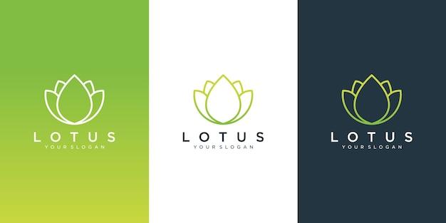 Diseño de logotipo de flores