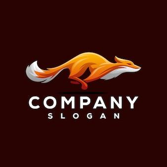 Diseño de logotipo de fox
