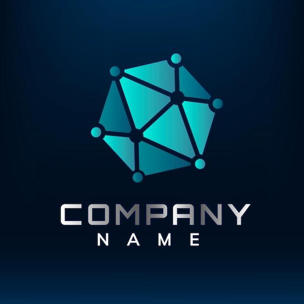 Diseño de logotipo geométrico