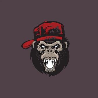 Diseño de logotipo gorila