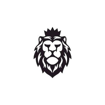 Diseño de logotipo de león inspiración impresionante