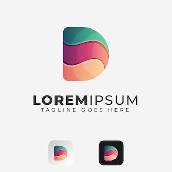 Diseño de logotipo letra d
