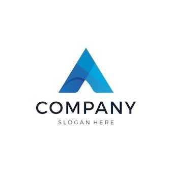Diseño de logotipo letra a