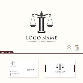 Diseño de logotipo de ley