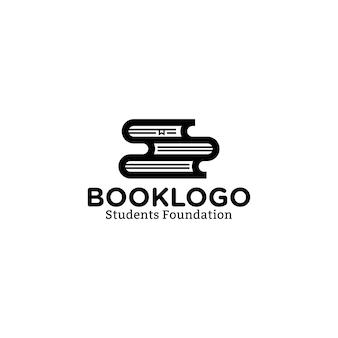Diseño de logotipo de libro