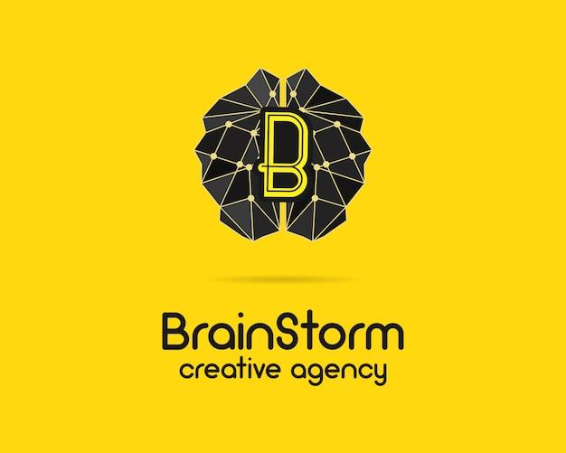 Diseño de logotipo de lluvia de ideas