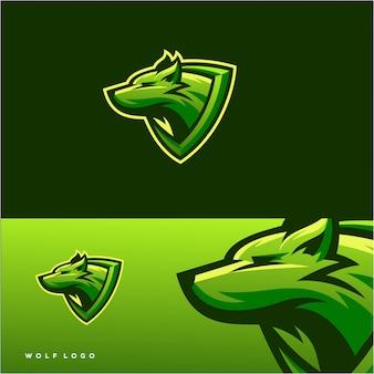 Diseño de logotipo lobo