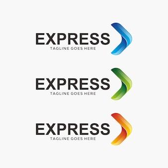 Diseño de logotipo logístico