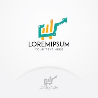 Diseño de logotipo del mercado de valores