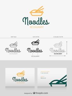 Diseño de logotipo de noodles