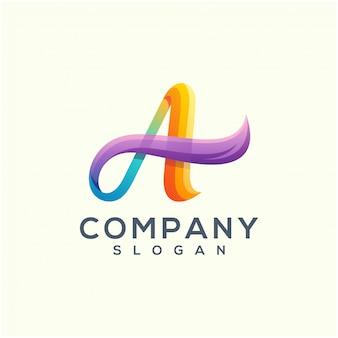 Diseño de logotipo de onda