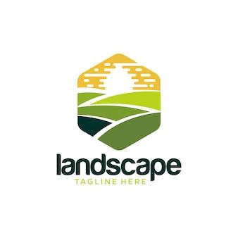 Diseño de logotipo de paisajismo