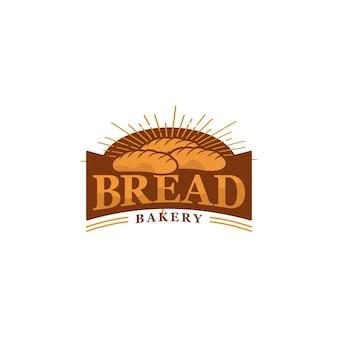 Diseño de logotipo de pan