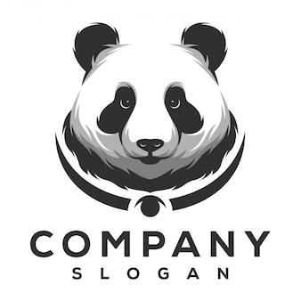 Diseño de logotipo de panda
