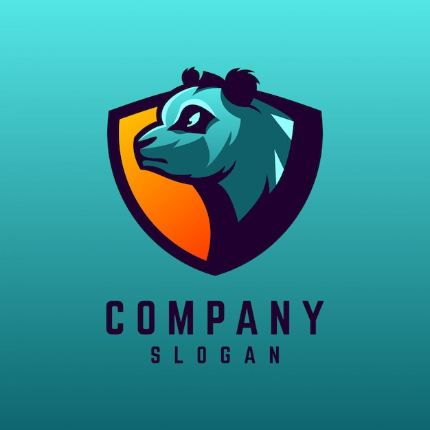 Diseño de logotipo panda