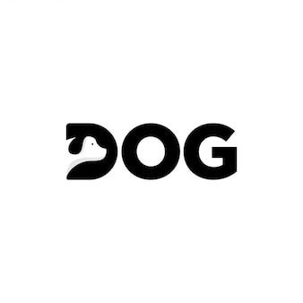 Diseño de logotipo de perro
