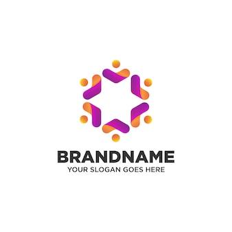 Diseño de logotipo de personas