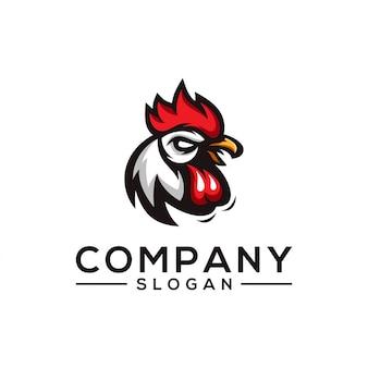 Diseño de logotipo de pollo