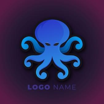 Diseño de logotipo de pulpo