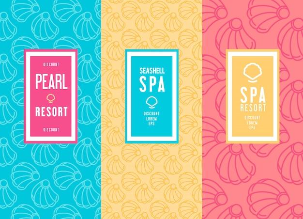 Diseño de logotipo de salón de spa.