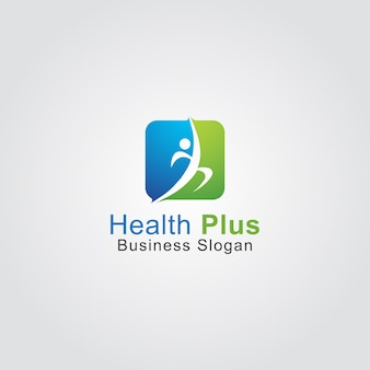 Diseño de logotipo de salud humana
