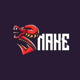 Diseño de logotipo de serpiente