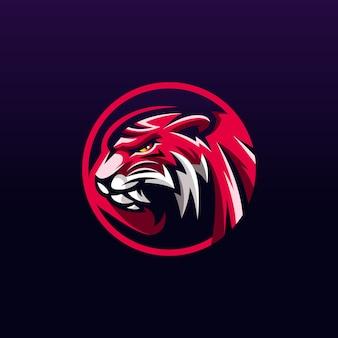 Diseño de logotipo de tigre