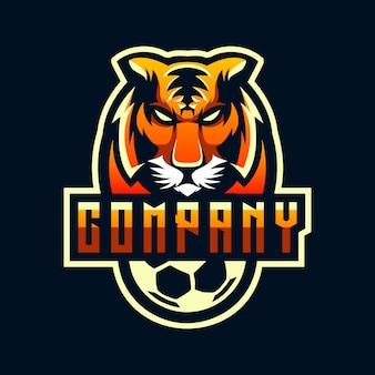 Diseño de logotipo tigre