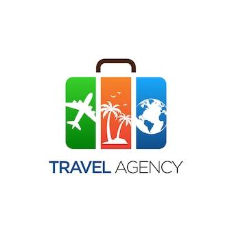 Diseño de logotipo de viaje